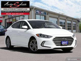 Used 2017 Hyundai Elantra GL ONLY 78K! **BACK-UP CAMERA** CLEAN CARPROOF for sale in Scarborough, ON