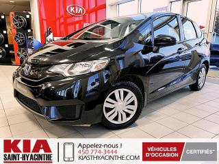 Used 2017 Honda Fit LX * CAMÉRA DE RECUL / SIÈGES CHAUFFANTS for sale in St-Hyacinthe, QC