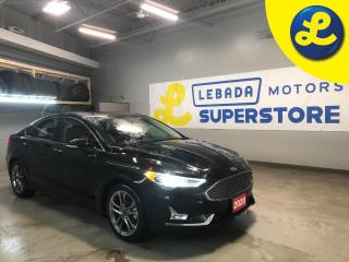 Used 2020 Ford Fusion Hybrid Titanium * Hybrid * Navigation * Sunroof * Leather * Remote Start *  Back Up Camera * Apple Car Play * Android Auto * Push Button Start * Heated/Coole for sale in Cambridge, ON