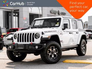 New 2021 Jeep Wrangler Unlimited Rubicon Diesel  Dual Top Navi LED Advanced Safety Cold Weather for sale in Thornhill, ON