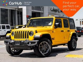 New 2021 Jeep Wrangler Sport 80th Anniversary Unlimited 4x4 Cold Weather Grp Freedom Top for sale in Thornhill, ON