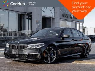 Used 2018 BMW 5 Series M550i xDrive Harman Kardon Heated & Vented Massage Seats for sale in Thornhill, ON