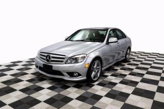Used 2009 Mercedes-Benz C-Class C350 3.5L 4Matic Sunroof Leather Nav Cam Heated Seats for sale in New Westminster, BC