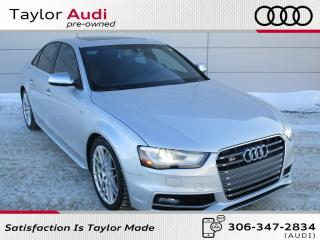 Used 2013 Audi S4 3.0T Premium for sale in Regina, SK