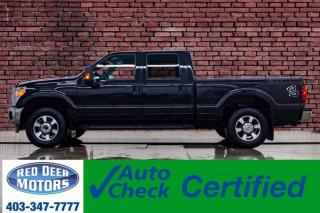 Used 2015 Ford F-250 4x4 Crew Cab Lariat Leather Roof Nav BCam for sale in Red Deer, AB