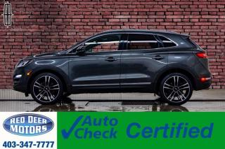 Used 2018 Lincoln MKC AWD Reserve Leather Roof Nav BCam for sale in Red Deer, AB