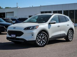 Used 2020 Ford Escape Titanium Hybrid | AWD | LEATHER | NAV | 1.9% AVAIL for sale in Stouffville, ON