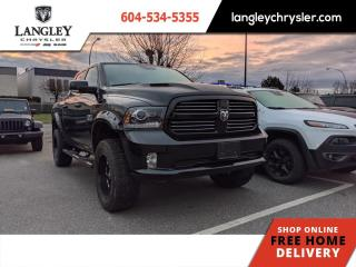 Used 2017 RAM 1500 Sport  Tonneau/ Navi/ Accident Free/ Loaded for sale in Surrey, BC
