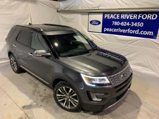 Used 2016 Ford Explorer Platinum for sale in Peace River, AB