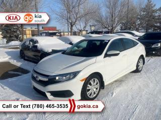 Used 2017 Honda Civic Sedan LX; AUTOMATIC, HEATED SEATS, A/C, BACKUP CAMERA, 3M, BLUETOOTH, GREAT ON GAS for sale in Edmonton, AB