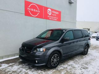 Used 2018 Dodge Grand Caravan GT / Leather / Bluetooth / Stow N' Go / Power Sliding Doors for sale in Edmonton, AB