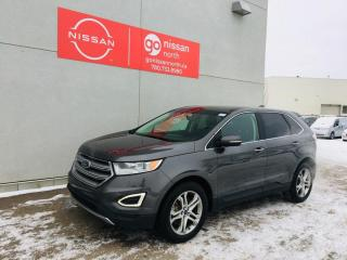 Used 2017 Ford Edge Titanium / 4WD / Touch Screen / Back Up Camera / Bluetooth for sale in Edmonton, AB