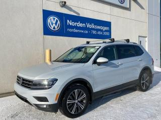 Used 2018 Volkswagen Tiguan HIGHLINE W/ DRIVERS ASSIST + 3RD ROW PKG / VW CERTIFIED for sale in Edmonton, AB