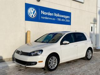 Used 2010 Volkswagen Golf HIGHLINE 5DR - LEATHER / HTD SEATS for sale in Edmonton, AB