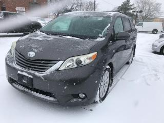 Used 2011 Toyota Sienna XLE,LEATHER,B/U,CAM,S/R,P/SLIDDING DOORS,SAFETY for sale in Toronto, ON