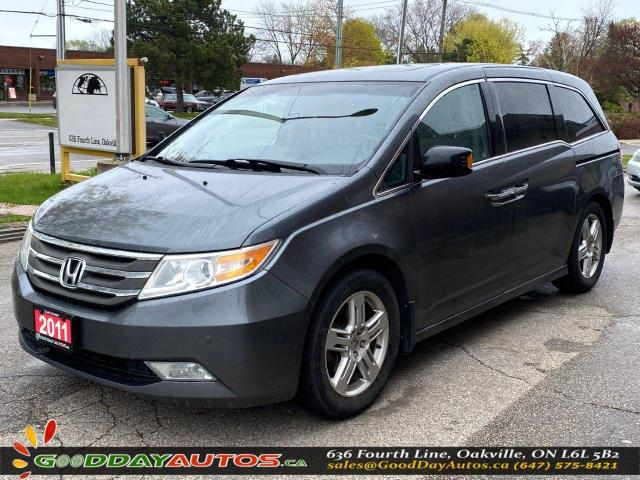 2011 Honda Odyssey Touring|LOW KM|SINGLE OWNER|SUNROOF|NAVI|CERTIFIED