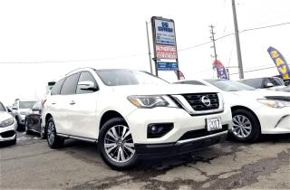 Used 2017 Nissan Pathfinder No Accidents | AWD | SV |RCAM | 7 Seater Certified for sale in Brampton, ON
