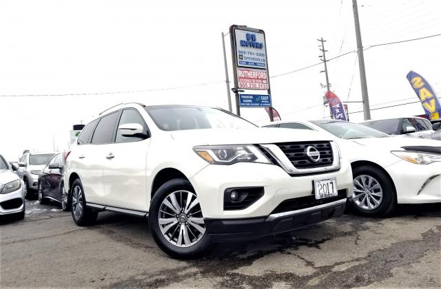 2017 Nissan Pathfinder No Accidents | AWD | SV |RCAM | 7 Seater Certified