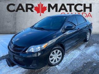 Used 2013 Toyota Corolla CE / AUTO / NO ACCIDNETS for sale in Cambridge, ON