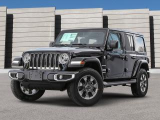 New 2021 Jeep Wrangler Sahara Unlimited 4X4 for sale in Winnipeg, MB