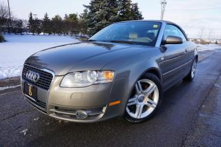 Used 2007 Audi A4 2.0T / CABRIOLET/ GORGEOUS COMBO / QUATTRO for sale in Etobicoke, ON