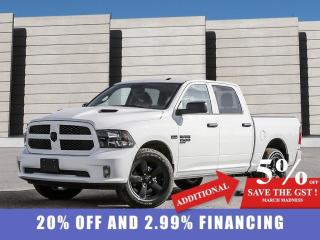 New 2021 RAM 1500 Classic Express 4x4 Crew Cab 5'7  Box for sale in Winnipeg, MB