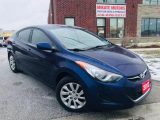 Used 2012 Hyundai Elantra GL for sale in Rexdale, ON