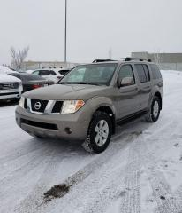 Used 2006 Nissan Pathfinder LE 4X4   $0 DOWN - EVERYONE APPROVED! for sale in Calgary, AB