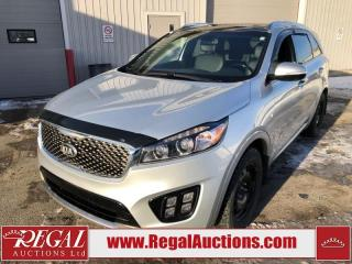 Used 2017 Kia Sorento SX V6 4D UTILITY 7PASS AWD 3.3L for sale in Calgary, AB