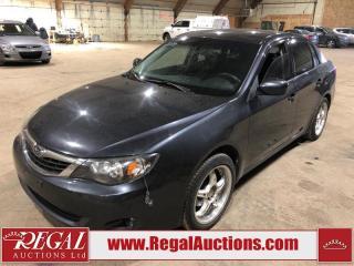 Used 2009 Subaru Impreza 4D Sedan AWD for sale in Calgary, AB