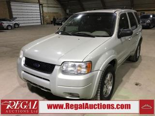 Used 2003 Ford Escape Limited 4D Utility for sale in Calgary, AB