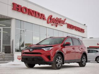 Used 2017 Toyota RAV4 LE AWD w/ TOYOTA SAFETY SENSE for sale in Winnipeg, MB