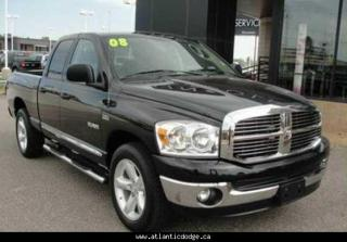 Used 2008 Dodge Ram 1500 Quad Cab 4X4 SLT for sale in New Glasgow, NS