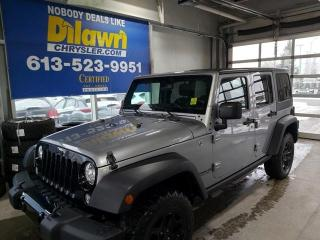 Used 2016 Jeep Wrangler UNLIMITED SPORT for sale in Nepean, ON
