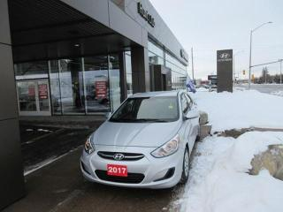 Used 2017 Hyundai Accent GL for sale in Nepean, ON