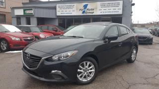 Used 2016 Mazda MAZDA3 GS w/P-Moonroof for sale in Etobicoke, ON