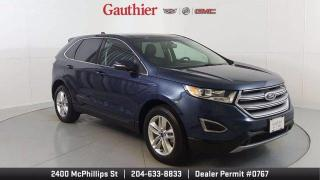 Used 2017 Ford Edge SEL AWD, V6, Power Sunroof, Navigation, Loaded, On for sale in Winnipeg, MB