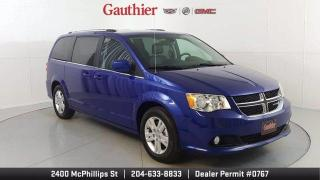 Used 2020 Dodge Grand Caravan Crew Plus 3.6L V6, Heated Leather Seats, Quad Seat for sale in Winnipeg, MB
