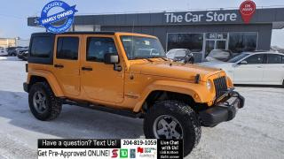 Used 2012 Jeep Wrangler Unlimited Sahara NAVI Htd Seat Clean Title, Excellent condtn for sale in Winnipeg, MB