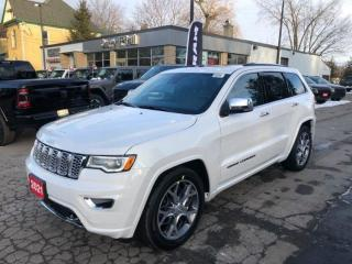New 2021 Jeep Grand Cherokee Overland for sale in New Hamburg, ON