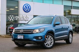 Used 2017 Volkswagen Tiguan 2.0T COMFORTLINE 4MOTION Apple CarPlay, Heated Seats, Satellite Radio for sale in Guelph, ON