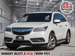 Used 2015 Acura MDX Elite Package for sale in Mississauga, ON