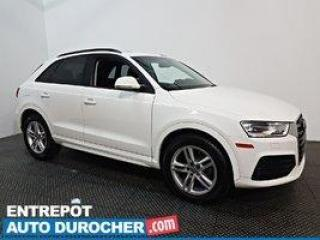 Used 2018 Audi Q3 Komfort - AWD - TOIT OUVRANT - CUIR for sale in Laval, QC
