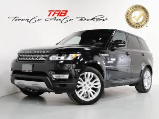 Used 2017 Land Rover Range Rover Sport Td6 HSE I PANO I NAV I 21 INCH WHEEL I CAM for sale in Vaughan, ON