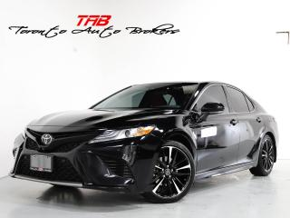 Used 2018 Toyota Camry XSE I RED LTHR I HUD I PANO I 1-OWNER for sale in Vaughan, ON