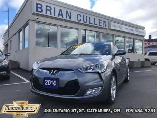 Used 2014 Hyundai Veloster - Low Mileage for sale in St Catharines, ON