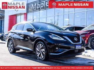Used 2020 Nissan Murano SL AWD Apple Carplay Navi Leather Moonroof for sale in Maple, ON