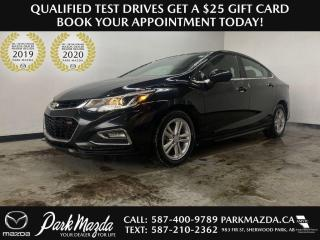 Used 2016 Chevrolet Cruze LT for sale in Sherwood Park, AB