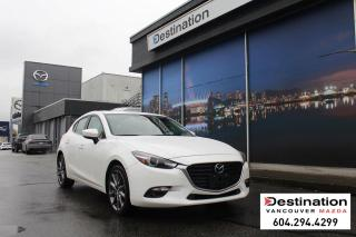 Used 2018 Mazda MAZDA3 Sport GT-With Roadside assistance when you need it most! for sale in Vancouver, BC