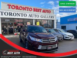 Used 2019 Toyota Highlander |LEATHER SEATS|LANE DEPARTURE|ADAPTIVE CRUISE|LE UPGRDE|2WD for sale in Toronto, ON
